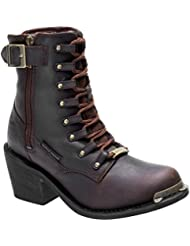 Harley-Davidson® Womens Erica 6-Inch Waterproof Motorcycle Boots D87125 D87126