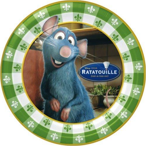 Ratatouille 9 Plate