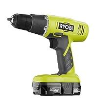 Ryobi P1810 18-Volt ONE+ Lithium-Ion Cordless Drill Driver Kit Deals