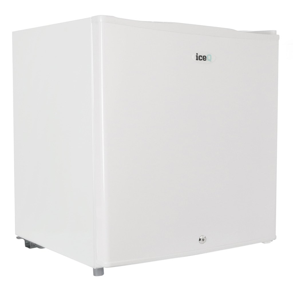 iceQ 48L Table Top Mini Drinks & Beer Fridge Lockable White A* Rated [Energy Class A+] iceq48w
