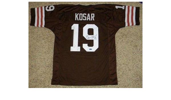 Autographed Bernie Kosar Jersey - #19 Coa - Autographed NFL ...
