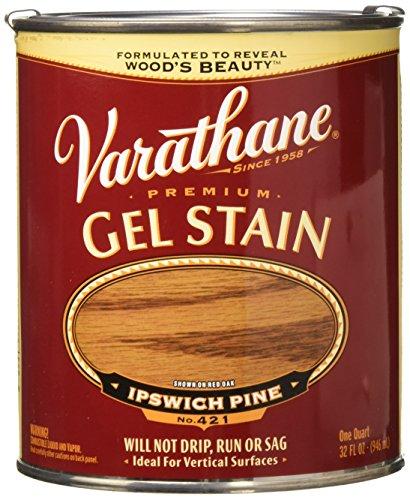 Varathane 224455H Premium Gel Stain, Quart, Ipswich Pine