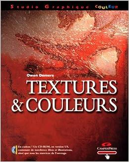 Amazon Fr Textures Et Couleurs Demers Owen Livres