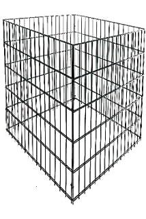 6 Zinken mit Stiel Braun FREUND 66363//1410675 Hochbeet-Rechen 45 x 11 x 5 cm