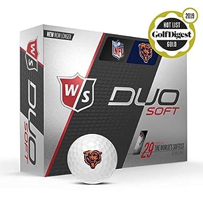 Wilson Staff Duo Soft Team Licensed Golf Balls - 12 Count Box