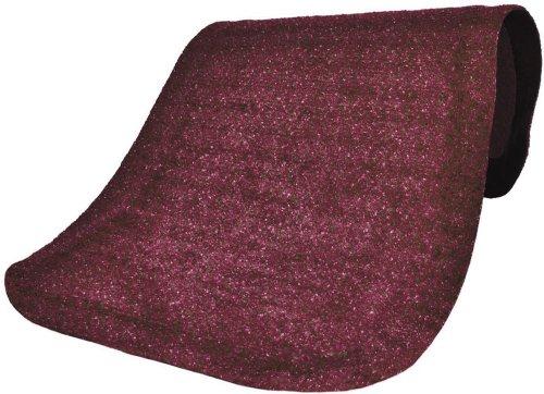 M+A Matting 446 Hog Heaven Plush Nylon Fiber Anti-Fatigue Floor Mat, Nitrile Rubber Foam Backing, 12