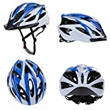 Zacro-Adjustable-Thrasher-Adult-CycleBike-Helmet-with-Detachable-Liner-Blue-Plus-White