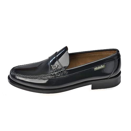 606EC Negro Talla 43 - Zapato de Hombre El Caballo 606 Negro