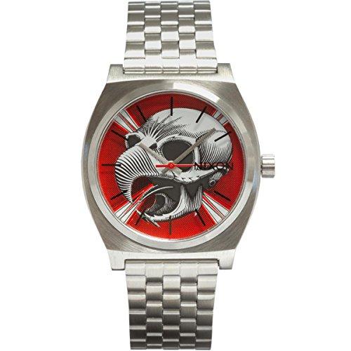 Nixon Time Teller Powell Peralta Bones Brigade Limited Edition, Silver/Hawk -  43230-162345