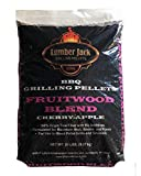 Lumber Jack Fruitwood Blend BBQ Grilling Pellets - 20 lbs.