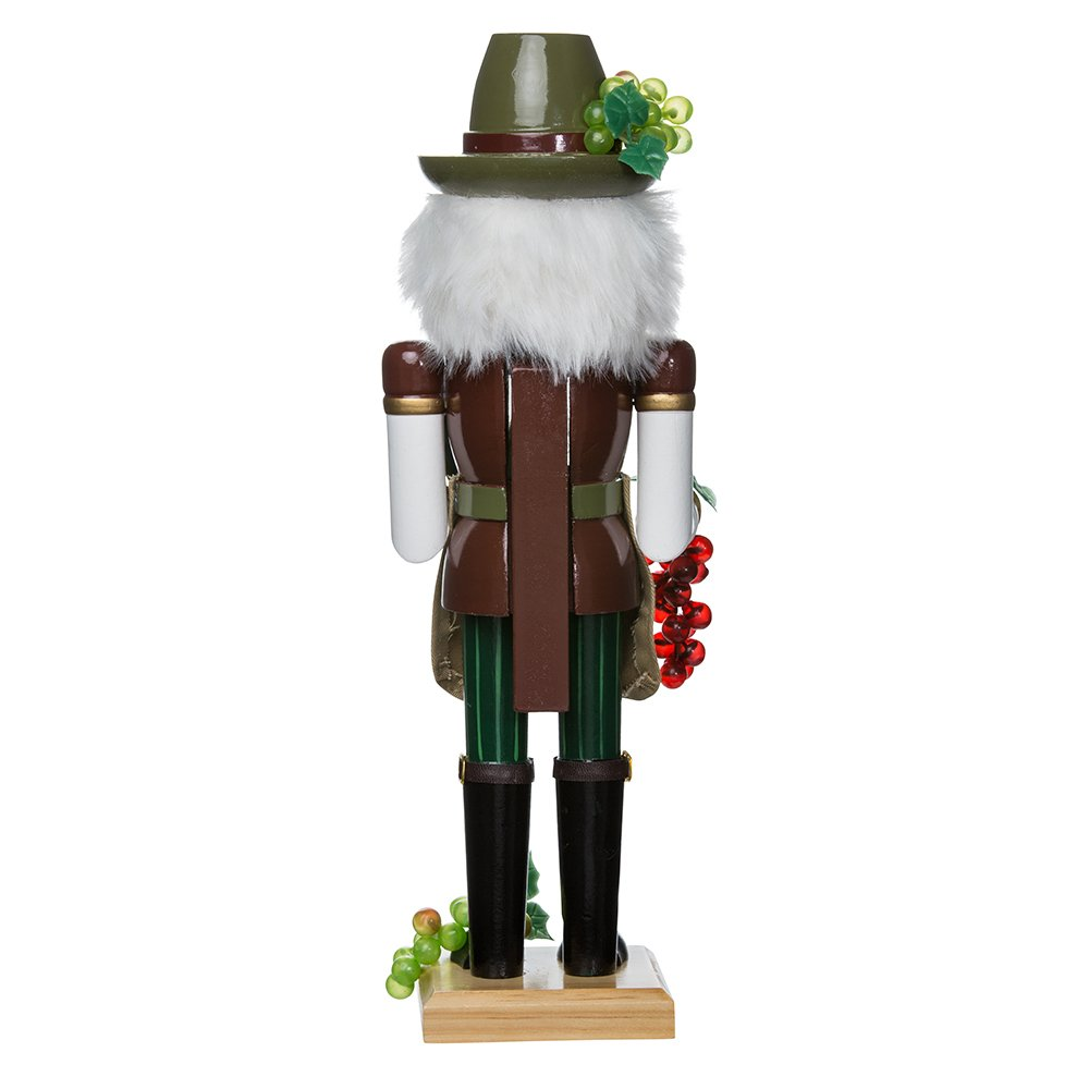 Kurt Adler 15-Inch Wooden Wine Grower Nutcracker by Kurt Adler (Image #2)