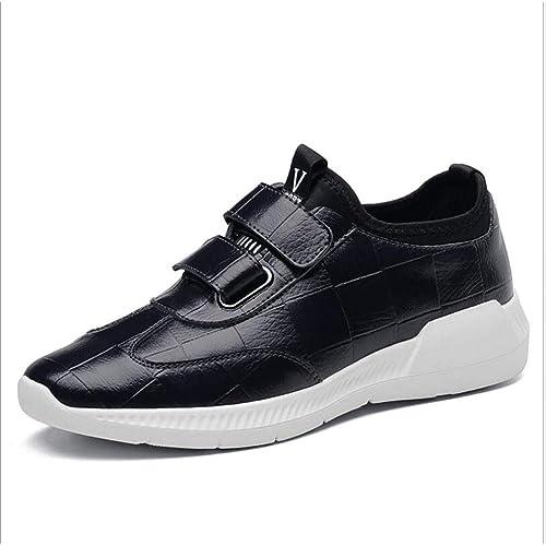 Zapatos de Hombre 2018, Zapatos de Cuero Ocasionales de los Hombres, Zapatos Corrientes Confortables