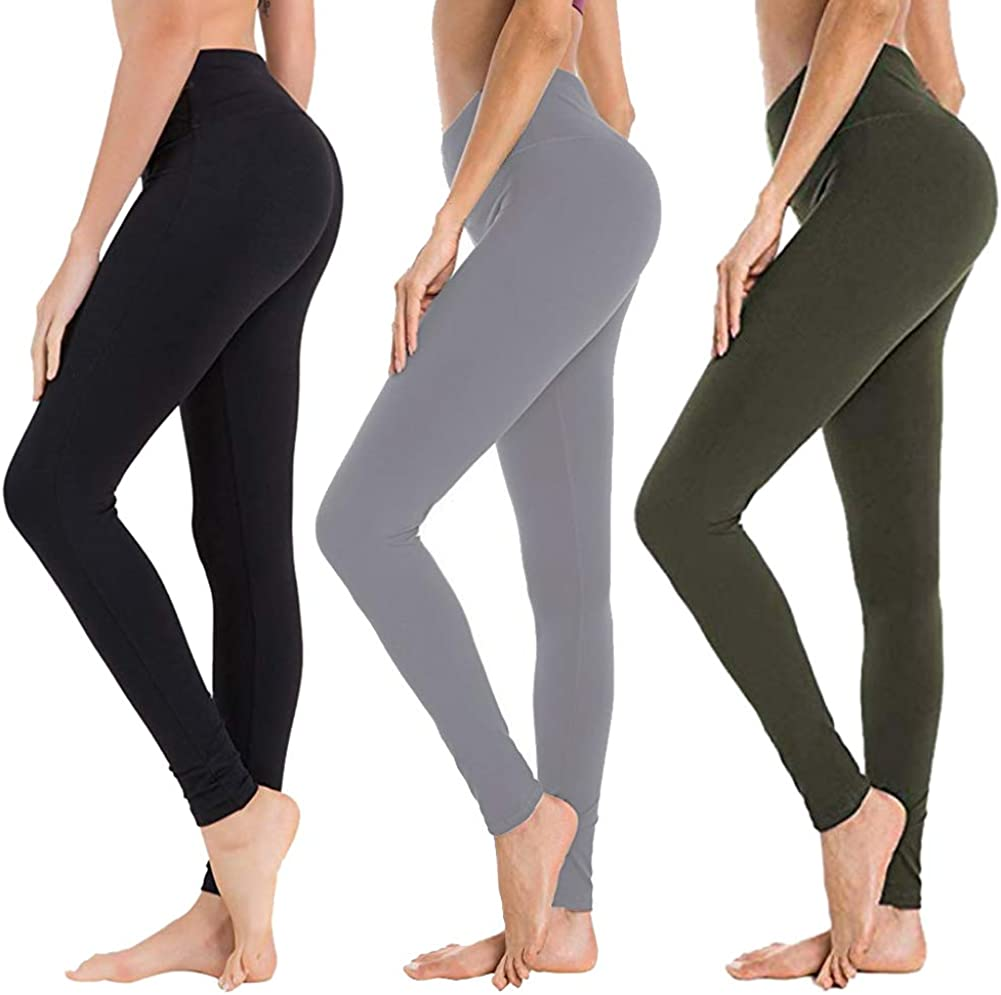 High Waisted Leggings for Women -
