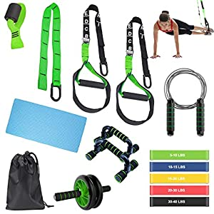 Well-Being-Matters 51Q7azUDL5L._SS300_ BoYun All-in-ONE Suspension Training,Home Gym,Bodyweight Resistance System,Full Body Workouts for Home, Travel, and…