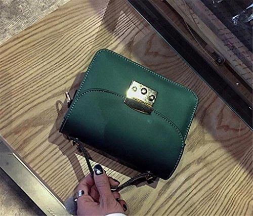 Scrub De Colores Fashion Cinco Señoras Cuadrado Diagonal Cross Bag Single Shoulder Compras Green Bolso Trabajo Package Del Bao Pequeño Iqf61