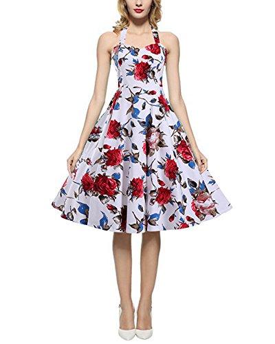 1950 halter neck dress patterns - 5