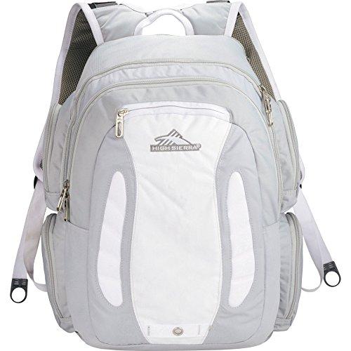 High Sierra Neo Backpack (20 x 13 x 10-Inch, Silver) (Bag Shoulder High Mini Sierra)