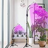 Grow Light with Stand,GHodec Tri-Head 60W Floor