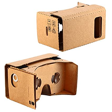 Kr Net Bigger Google Cardboard Vr 3d Virtual Reality Glasses Camera Headset Controller Diy Kit For Large Smart Phone Galaxy Note 3 4 5 Iphone 6 6s