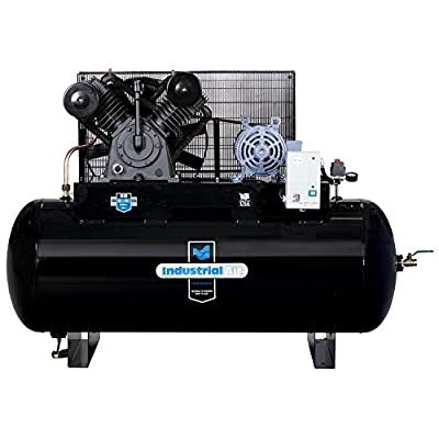 Industrial Air IH9919910 10 HP Two Stage Air Compressor, 120 gallon from MAT Industries