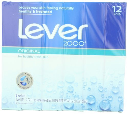 Lever 2000 Moisturizing Bar, Perfectly Fresh Original , 12 Count (Pack of 2) by Lever 2000 [Beauty]