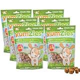 Nootie YumZies Natural BBQ Chicken Flavor Dog Treats, 6-Pack, My Pet Supplies