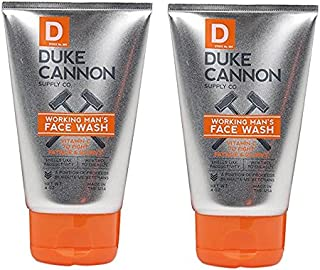 product image for Duke Cannon Working Man's Face Wash for Men, 4 Ounce - Pack of 2