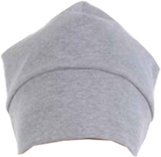 Grey Cool Sleeping Hats Sleep Bonnet Nightcaps Shading Hat for Men B