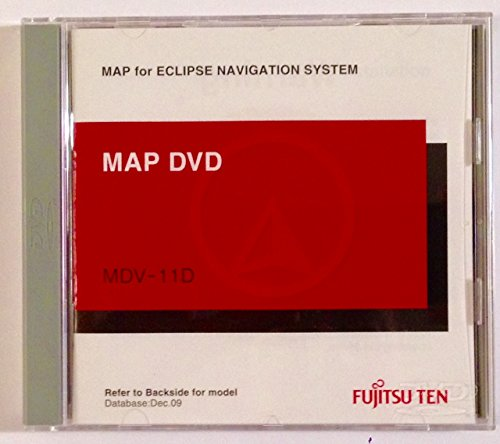 MDV-11D Eclipse Navigation Update DVD version 2.5 Disc for Eclipse AVN-2454 AVN-5435 AVN-5500 AVN-6600 AVN20D/30D/50D Navigation In-Dash Receivers by Eclipse