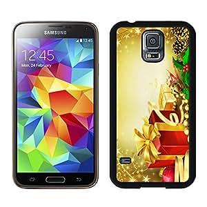Custom-ized Design Merry Christmas Black Samsung Galaxy S5 Case 42
