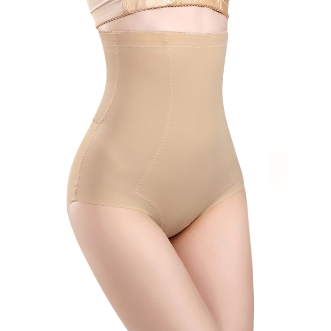 DreamLark Shapewear for Women,High Waist Smooth Breathable Girldles Seamless Body Shaper(New Version) (Beige, US Size S=Tag L)