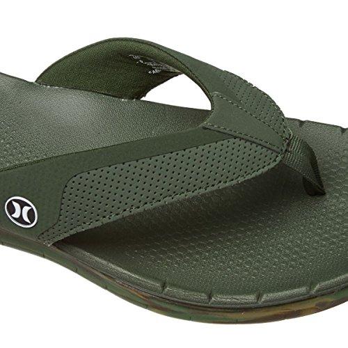 Hurley Flip Flops Phantom Free Sandal carbon green 7BLbc9v0