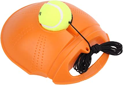 Tennis Trainer Exercise Training Tool Self-study Practice Rebound Ball Baseboard