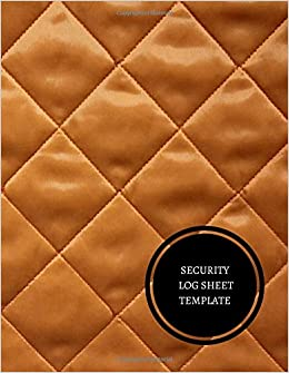 security log book template