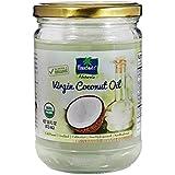 Parachute Naturalz Organic Virgin Coconut Oil 16 fl.oz. (473ml) - Cold Pressed, USDA certified