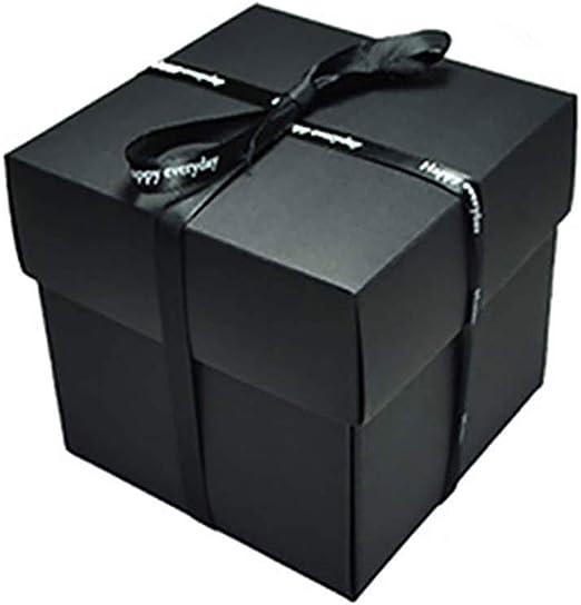 SMEJS Joyería de la Caja-Libro de Recuerdos de la Sorpresa Photo Album Kit, Perfecto for Regalos de cumpleaños, Aniversario: Amazon.es: Hogar