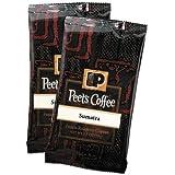 Coffee Portion Packs, Sumatra, 2.5 oz Frack Pack, 18/Box, Sold as 1 Box