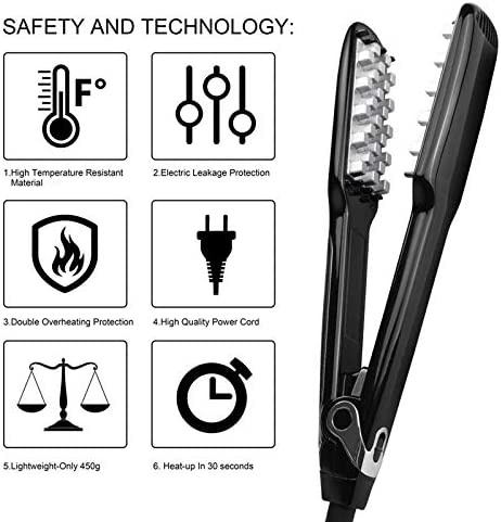 Hair Curlers Multi Style Styling Tool Curler Iron LCD Hair Straightener  bpIKG