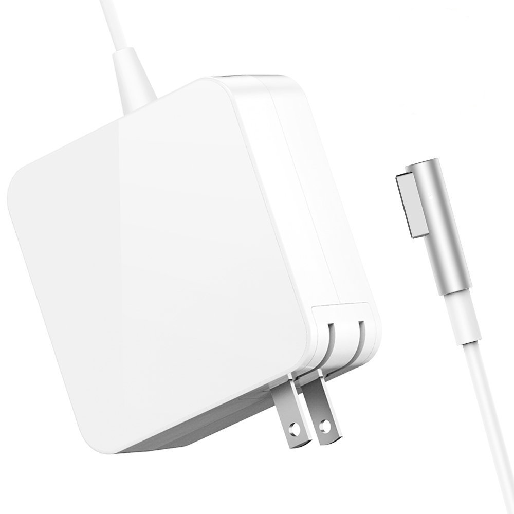 SiliconV Charger Replacement for MacBook Pro Charger with 13 Inch Display Before 2012 AC 60W Magsafe1 Connector Power Adapter