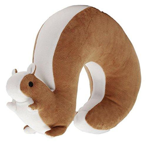 Katara Decor - Squirrel Travel Neck Pillow