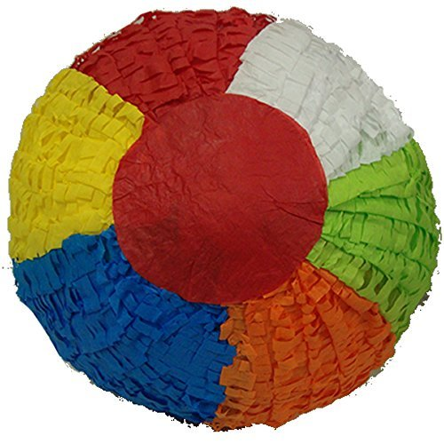 (Pinatas Large Beach Ball, Party Game, Decoration and Photo Prop for Summer)
