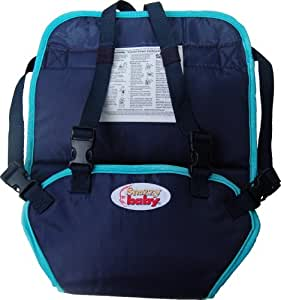 Snazzy Baby My Baby's Own Deluxe Travel Chair, Navy