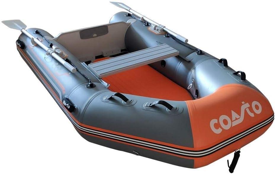 COASTO Schlauchboot Dropstitch Boden Beiboot Motorboot Ruderboot 230cm Dingi