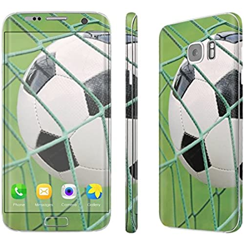 Galaxy [S7 Edge] Skin [NakedShield] Scratch Guard Vinyl Skin Decal [Full Body Edge] [Matching WallPaper] - [Soccer Goal] for Samsung Galaxy [S7 Sales