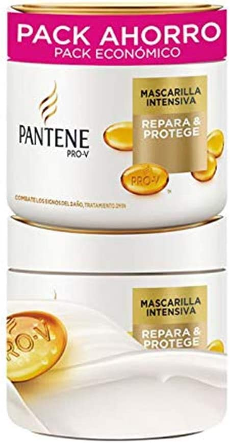 Pantene Masc Cap Pantene 2X300 Ml Repar/Proteg 6 Unidades 600 ...