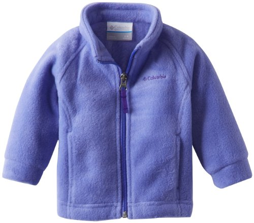 Columbia Baby Girls' Benton Springs Fleece Jacket, Purple Lotus, 3-6 Months
