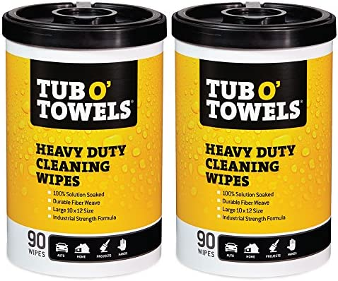 Tub O Towels Heavy Duty Multi Surface Cleaning Wipes