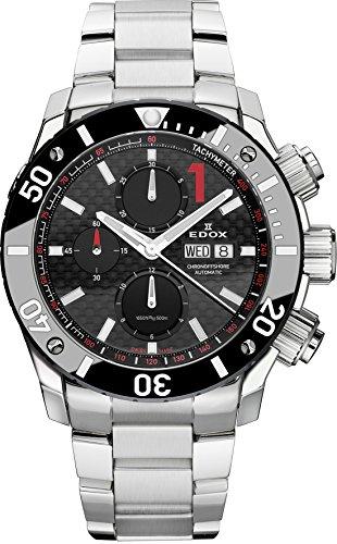 EDOX – Reloj de pulsera para hombre CHRONO ffshore 1 Cronógrafo analógico automático 01115 3 NIN