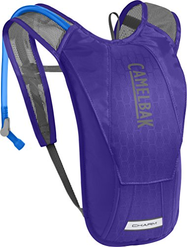 CamelBak Women's Charm Crux Reservoir Hydration Pack, Deep Purple/Graphite, 1.5 L/50 oz ()