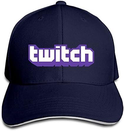 DIYoDGG Twitch Logo Adjustable Snapback Hats/Baseball Hats/Peaked Cap: Amazon.es: Ropa y accesorios